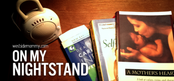 On My Nightstand – books I'm reading right now