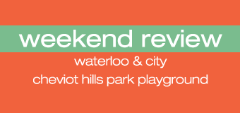 Weekend Review: Waterloo & City and Cheviot Hills Recreation Center