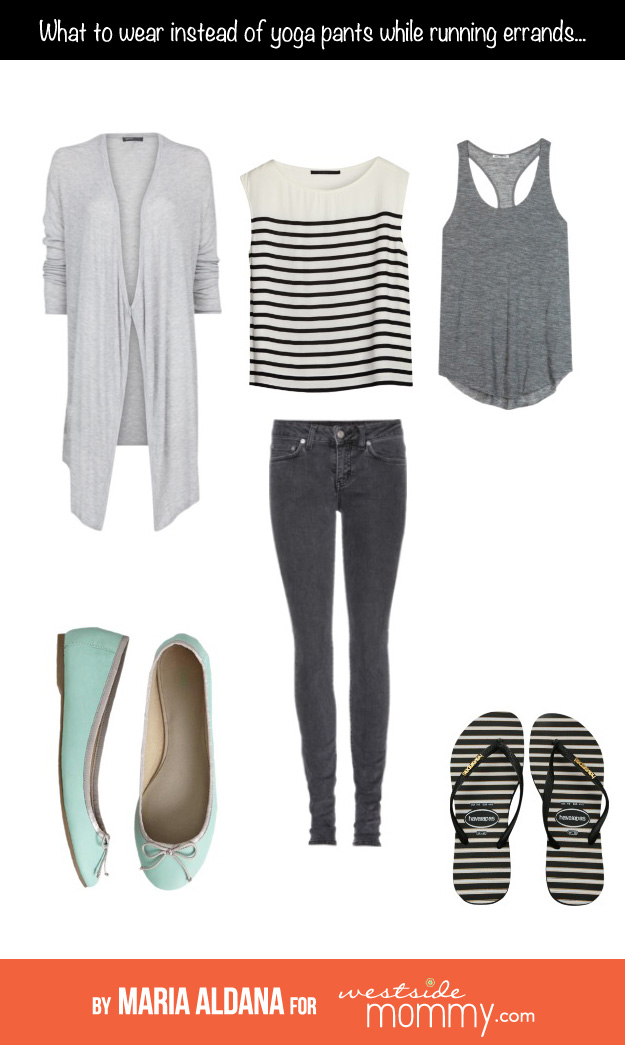 what to wear instead of yoga pants by maria aldana for westsidemommy.com