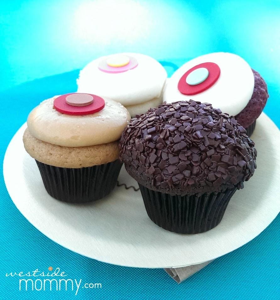 Yummy Sprinkles mini cupcakes