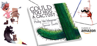 """Could You Hug A Cactus?"" Book giveaway and Q&A"