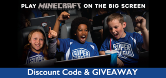 BE THE COOLEST MOM EVER: Take Your Kids to Play MINECRAFT in a Movie Theatre! Win free tickets!