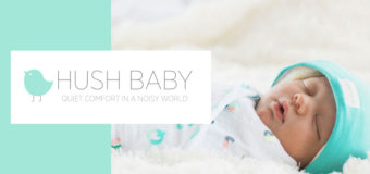 The HUSH Hat is a noise-reducing hat for babies. Review by Aya Kimura