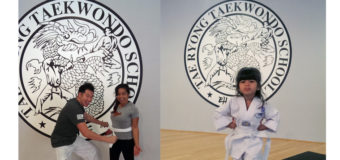 We're getting our TKD Belts!