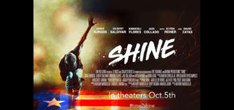 SHINE, a salsa dance movie, comes to theaters October 5th
