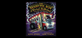 """Halloween book for Early Readers, """"The Frightful Ride of Michael McMichael"""""""