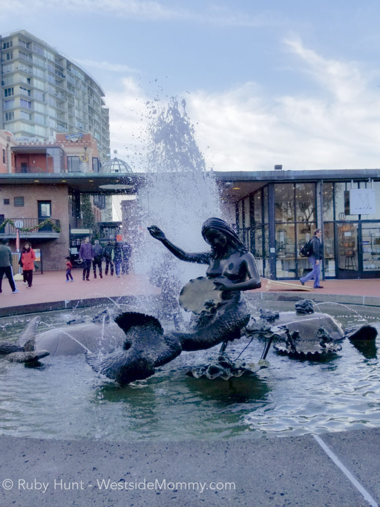 Mermaid Statue at Ghiradelli Square, San Francisco, California