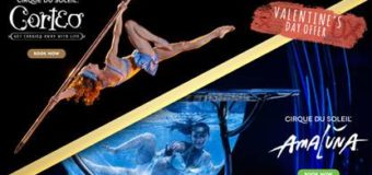 Special Valentine's Deal for TWO Cirque du Soleli Shows coming to L.A.